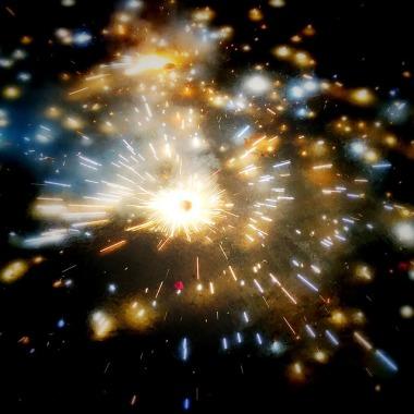 Firecrackers in Diwali