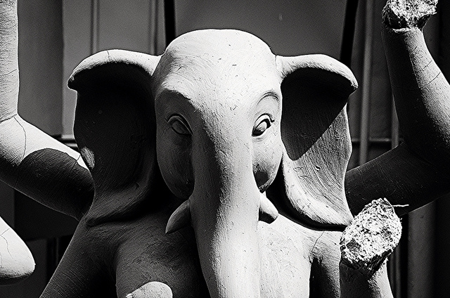 Ganesh idol for Durga Puja.jpg