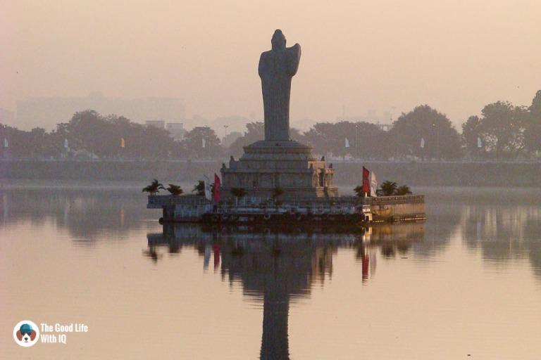 Hyderabad - Hussain Sagar lake