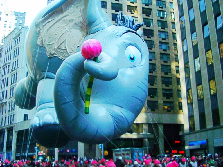 NYC Thanksgiving Day parade
