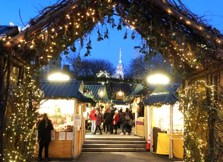 NYC_Union square Christmas market