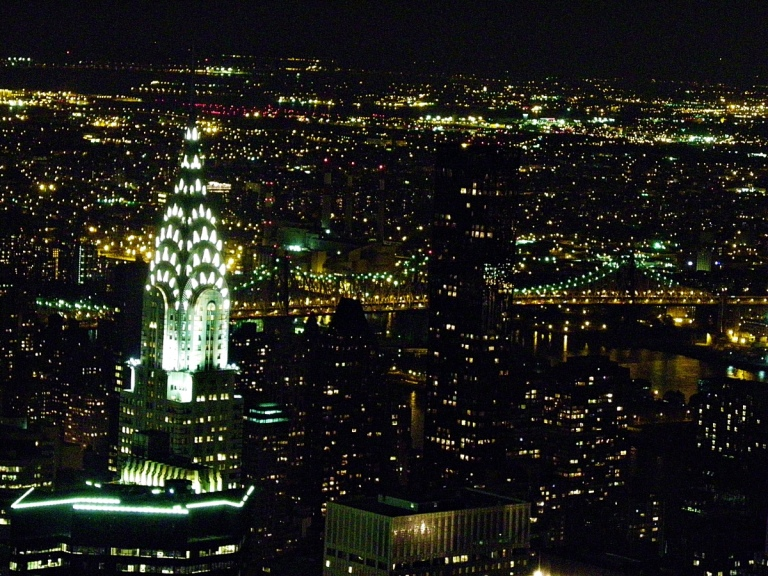 NYC_view from Empire State Building