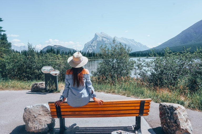 Spot (3) - MT Rundle and Lake Vermillion- tosomeplacenew